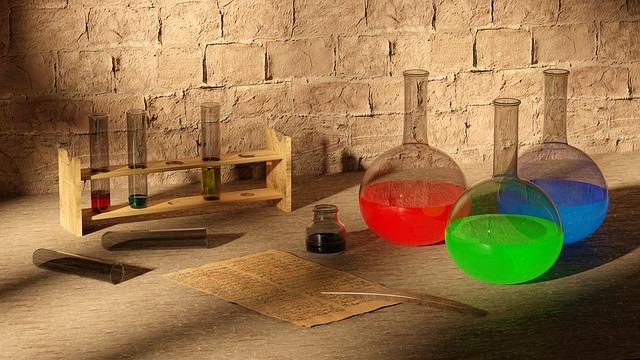 Botes de química