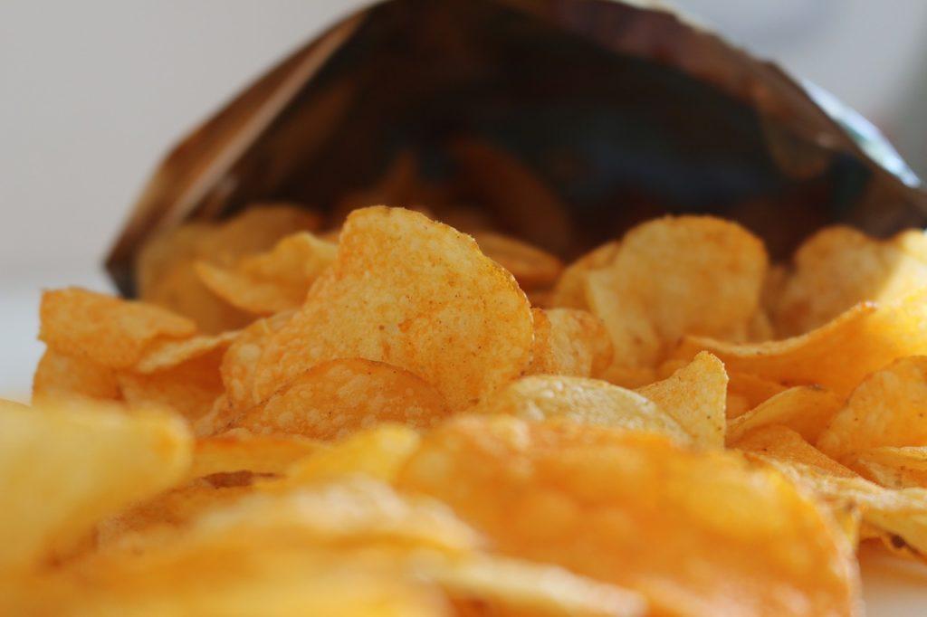 bolsa de patatas fritas