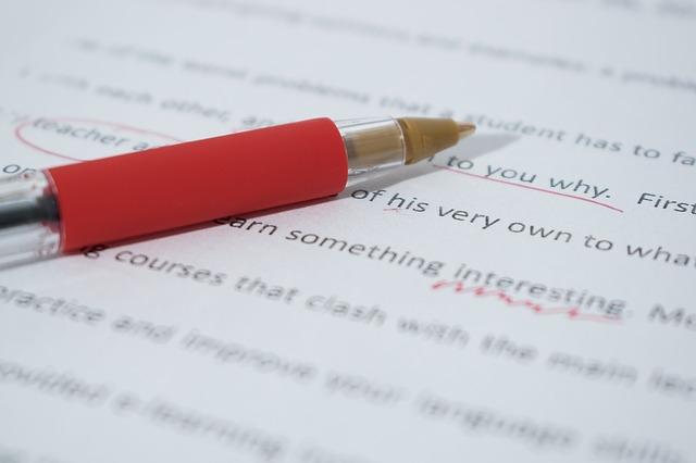 Revisando un manuscrito