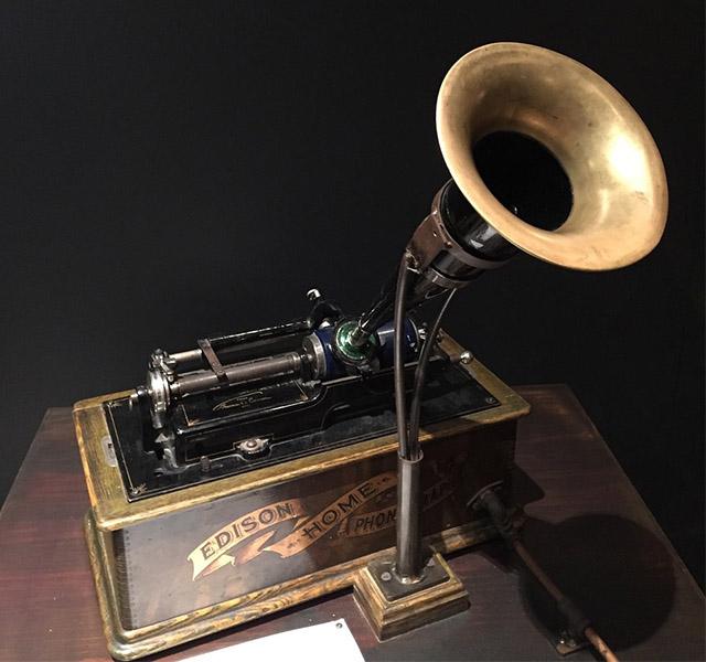 El fonógrafo de Edison