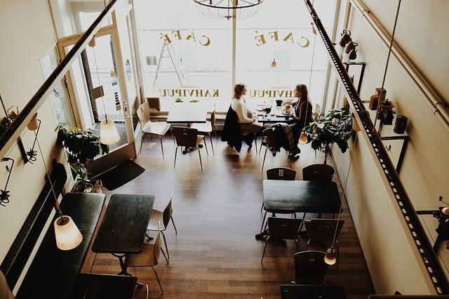 Interior de café