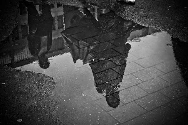 Lluvia en el suelo