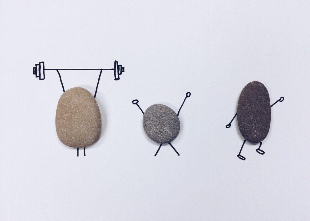 Piedras gimnásticas