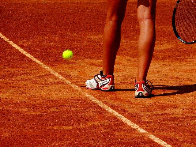 Suelo de pista de tenis